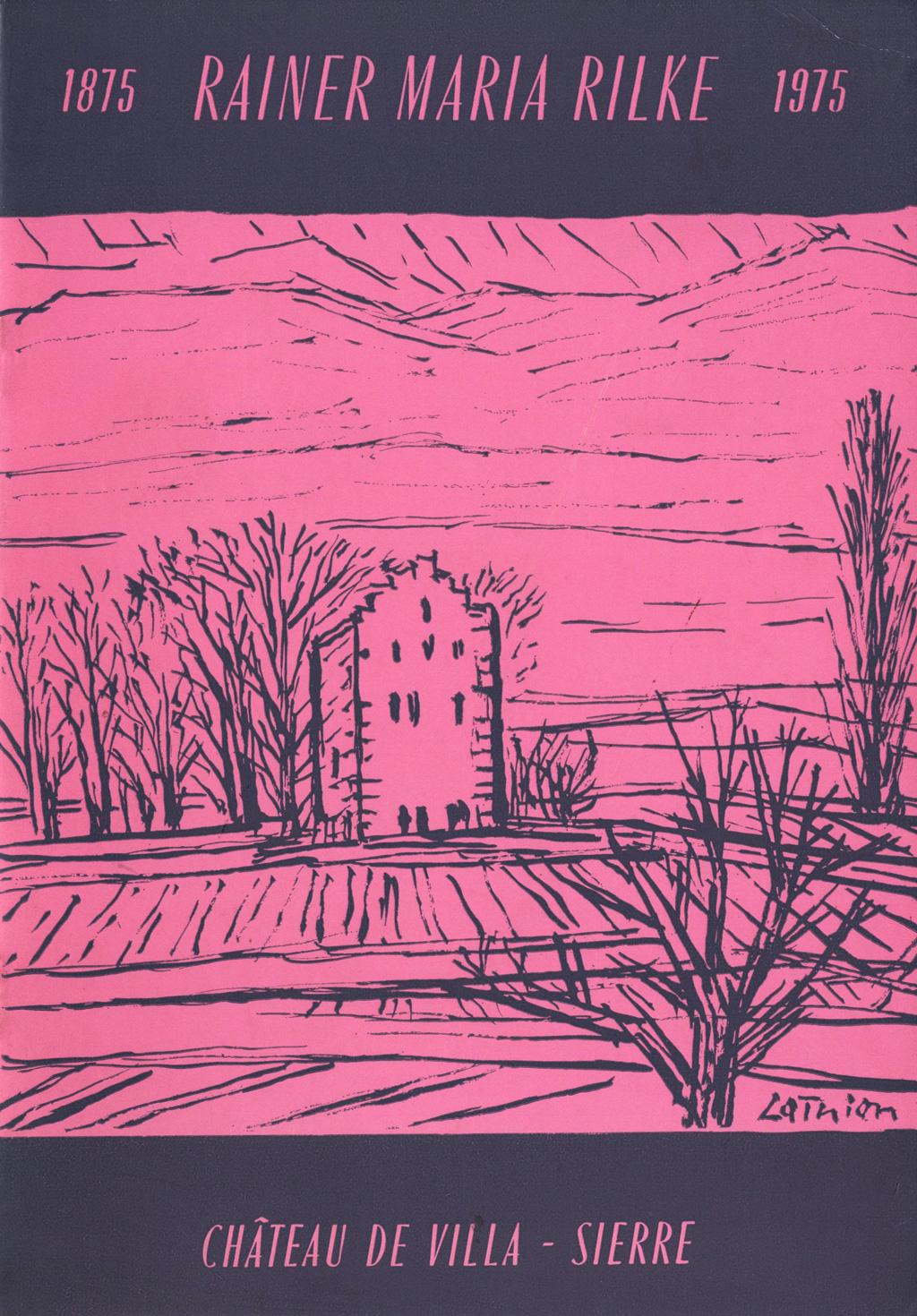 Hundertster Geburtstag von Rilke, 1975