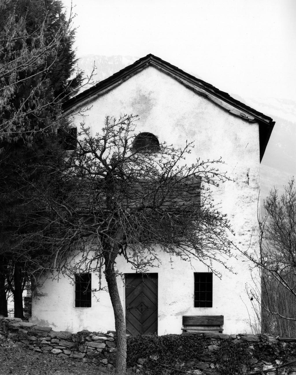 Chapelle de Muzot, années 1970 (Photo: Gérard Salamin)