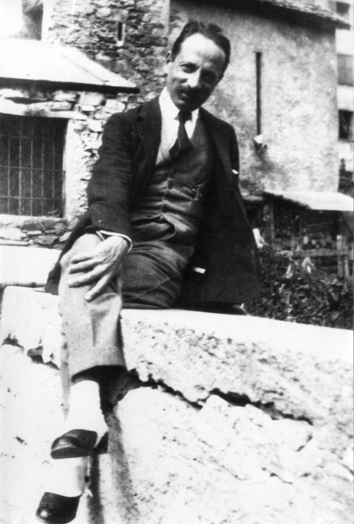 Rilke in Sierre (Siders), 1920er Jahre (Schweizerisches Literaturarchiv, SLA, Bern)