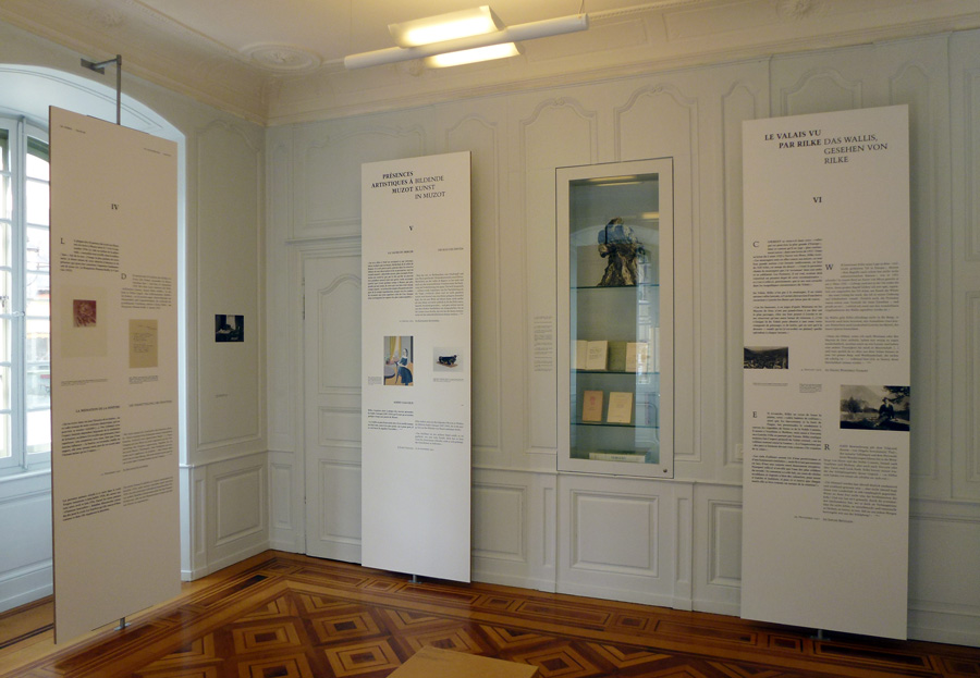 Fondation Rilke, exposition permanente