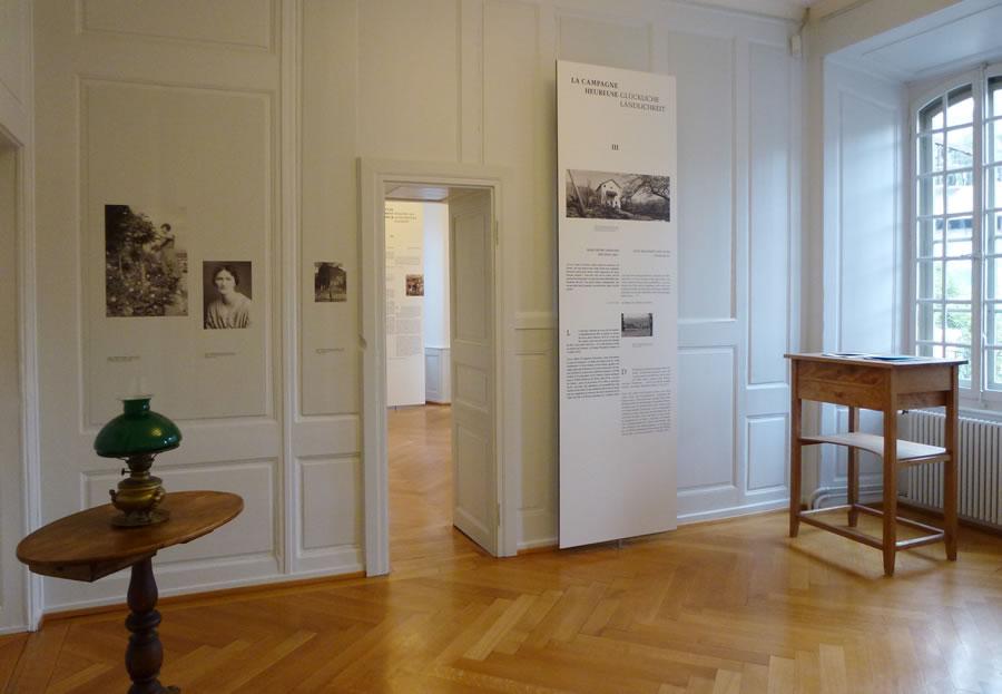 Fondation Rilke, Dauerausstellung