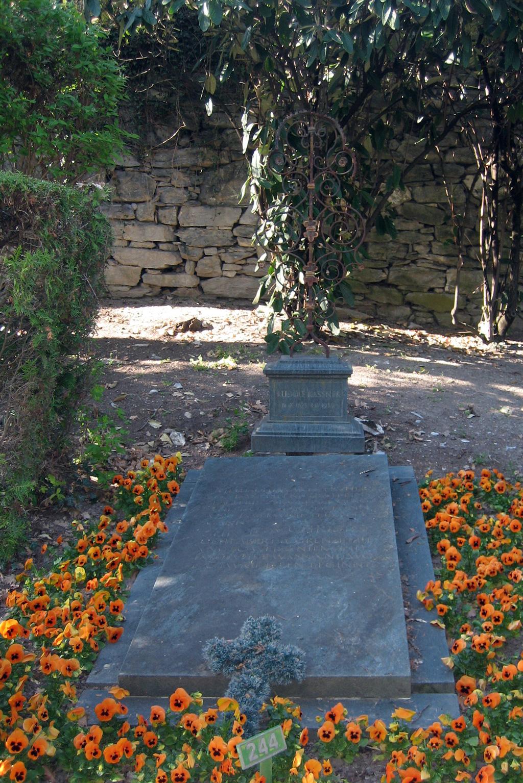 Grabmal von Rudolf Kassner, Sierre (Siders)